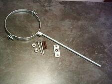 5 Inch - 125 mm - Wood Burning Stove - Flue Pipe Fixing Bracket Zinc Coated