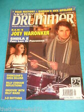 MODERN DRUMMER - JOEY WARONKER - MAY 2001