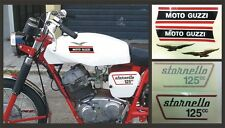 Kit Moto Guzzi Stornello 125cc. 1972 - adesivi/adhesives/stickers/decal