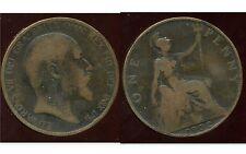ROYAUME UNI  one penny 1902