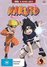 Naruto (Uncut) Collection 09 (Eps 107-120) (Slimpack) NEW R4 DVD