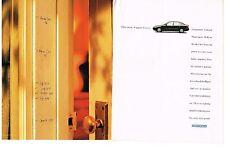 PUBLICITE ADVERTISING  1996  HONDA   CIVIC SEDAN (2 pages)