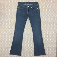 Rock and Republic Kasandra Boot Cut Jeans Size 24X28 Women's Dark Wash Denim D23
