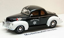 FORD DELUXE STATE POLICE 1939 - 1:18 MAISTO  UVP 49,99 €