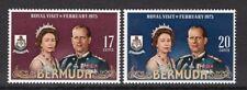 Bermuda 1975 Royal Visit set UM (MNH)