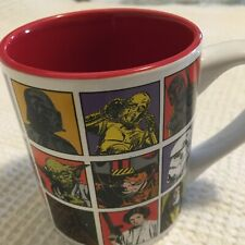 Star Wars comic Galerie coffee cup Darth Vader Yoda Princess Lea collectable