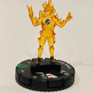 Marvel HeroClix Fantastic Four - Human Torch #019