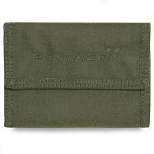 Pentagone Statère 2.0 Mens Trifold Nylon Militaire Armée Tactique EDC Wallet Vert