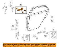 TOYOTA OEM 09-13 Corolla Lock -Rear Door-Handle Base Left 6920412110