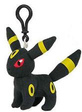 Pokemon 3'' Umbreon Eevolution Plush Bag Clip Key Chain NEW