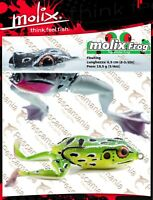 Artificiale spinning Molix Frog top water 6,5cm 19,5 gr. rana