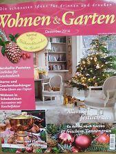 Rarität! Nur 3 Euro - Wohnen & Garten, 12/2016, Weihnachtszauber