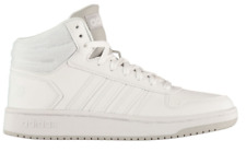 ADIDAS Hoops Mid Leather Mens Trainers White/Grey Size UK 10 US 10.5 *REFCHS10