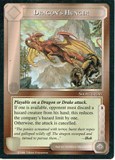 MIDDLE EARTH THE DRAGONS RARE CARD DRAGON'S HUNGER