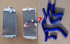 For Honda CRF450R CRF450 CRF 450R 2015 2016 15 16 Aluminum Radiator & HOSE BLUE