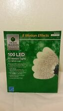 Home Accent Holiday 100 C6 Warm White Faceted Light With 8 Motion Effect