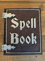 Spell Book Deck Box - Hand Painted MTG Commander Deck Box