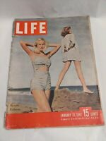 Life Magazine January 13,1947 Resort Fashions VINTAGE ADS  The New Congress