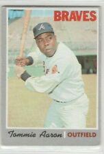 1970 Topps Baseball #278 Tommie Aaron. VGood.