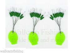 Behr Fishing Gummistopper Schnurstopper grün Posenstopper Baitstops