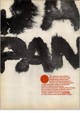 Henri Cartier-Bresson- Japan - LOOK Magazine 1967 Print Ad