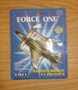 ERTL FORCE ONE DIE-CAST METAL McDONNELL F-4 PHANTOM JET AIRPLANE U.S. AIR FORCE
