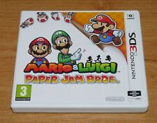 Mario & Luigi Paper jam bros 3D Game for Nintendo 3DS & 3DS XL