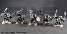 Warhammer Age of Sigmar Destruction Ironjaws Ardboys 2 hand weapon w/ Drum (5)