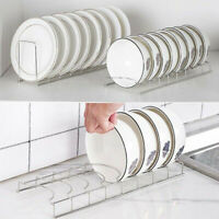 Stainless Steel Kitchen Sink Dish Drainer Cutlery Plate Cup Storage Holder Rack