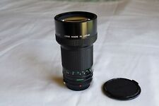 Canon FD 200mm F2.8 in very good condition.