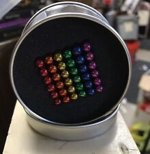 5mm Colorful 216pcs Neodymium Super Magnetic Balls, like Buckyballs-Rainbow