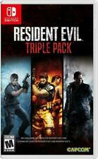 Resident Evil Triple Pack Nintendo Switch Game (Usa)