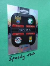Panini PRIZM World Cup 2018 Russia GROUP STAGE  Group A GS-A REFRACTOR