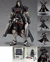 """6.7"""" Overwatch Reaper Action Figure OW Figma 393 Collectible PVC Toy Gift In Box"""
