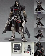 """Overwatch Reaper Action Figure OW Figma 393 Collectible PVC Toy 6.7"""" Gift In Box"""