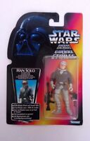 STAR WARS HAN SOLO WITH BLASTER & ASSAULT RIFFLE KENNER 1996 NEW FREE P&P