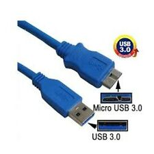 USB 3.0 A to Micro B Data Cable for WD Elements 2.5 Inch Portable Hard Drives