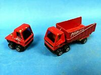 Matchbox Superfast No 50 Lesney Articulated Truck Red Yellow 1973