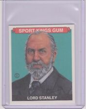 RARE 2015 SPORT KINGS LORD STANLEY MINI GREEN CARD #037 ~ /15 ~ HOCKEY HALL FAME