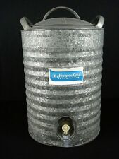 Vintage Westernfield by Hawthoerne 5 Gallon Galvanized Steel Water Cooler Jug