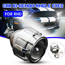 2.5'' HID Bi-xenon Projector Lens Shroud Headlight H1 H4 H7 Hi/Low Beam RHD