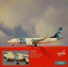 Herpa Wings 1:500  Boeing 737-800  Egyptair SU-GEJ   533546  Modellairport500