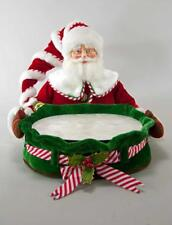 Katherine's Collection - Santa Serving Tray Christmas Treats Drinks  - 28-828372
