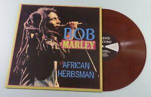 BOB MARLEY African Herbsman COLORED 180g Vinyl LP EXCELLENT Peter Tosh Lee Perry