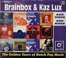Brainbox Kaz Lux-The Golden Years A&B sides and More 2 cds Dutch prog