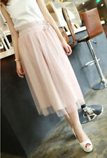 Unbranded Polyester Hand-wash Only Solid Skirts for Women