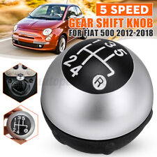 5 Speed + R Manual Gear Stick Shift Knob Lever 55344048 For Fiat 500 2012-2018