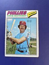 1977 TOPPS #140 MIKE SCHMIDT HOF PHILADELPHIA PHILLIES  *FREE SHIPPING*