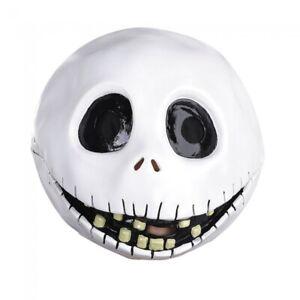 Jack Skellington Vacuform Mask Halloween Nightmare Before Christmas Costume