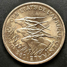 "CENTRAL AFRICAN REPUBLIC, 1980  50 FRANCS COIN, ""AU"" Uncirculated, NICE COIN"